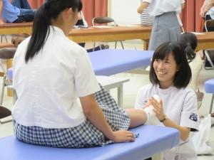 ⅡPT講義体験 (足首について)