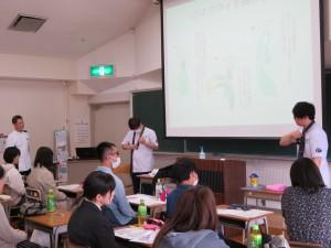 作業療法学科講義体験 (2)