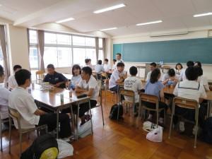 在校生交流会