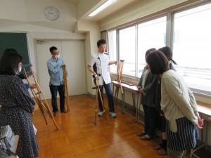 理学療法学科講義体験 (2)